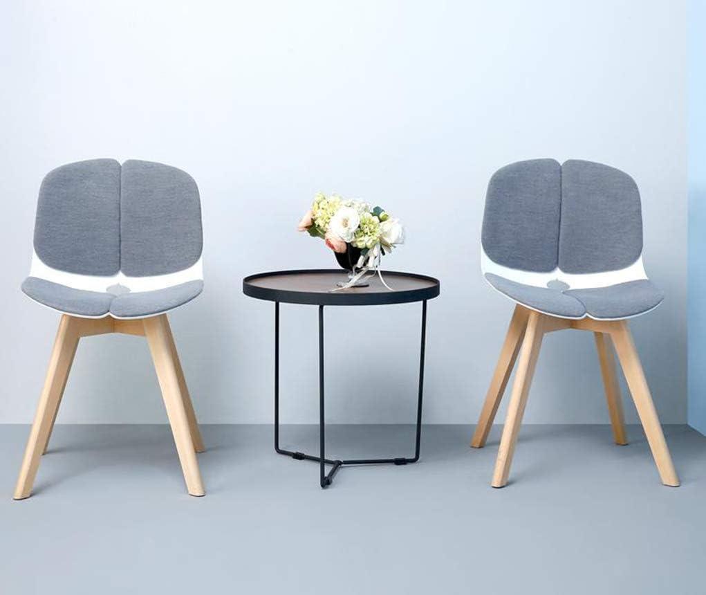 Chaise de Salle à Manger Chaise de bar européenne Chaise de salle à manger de réception américaine Chaise de bureau décontractée Designer (Color : Gray-b) Green-b