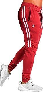 JackieLove Joggers for Men | Gym Pants Men | Athletic Workout Sweatpants | Tranning Track Running Pants