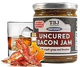 TBJ Gourmet Maple Bourbon Bacon Jam - Original Recipe Bacon Spread - Uses Real Bacon, No Preservatives - Authentic Bacon Jams - 9 Ounces