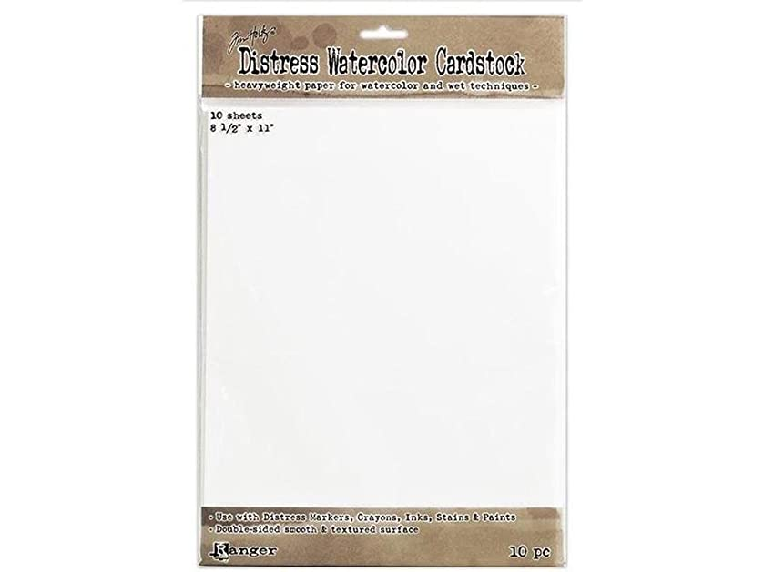 Ranger TH Cardstk THoltz Distress Watercolor Cardstock