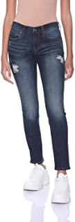 Aeropostale Low Rise Dark Wash Front Pocket Skinny Jeans for Women