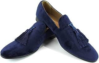 Men's Velvet Slip On Loafer Dress Shoes Tudors
