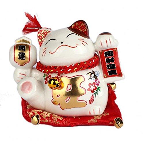STATUETTE MANEKI NEKO - Inviter la Fortune Chez Vous - Tradition Japonaise