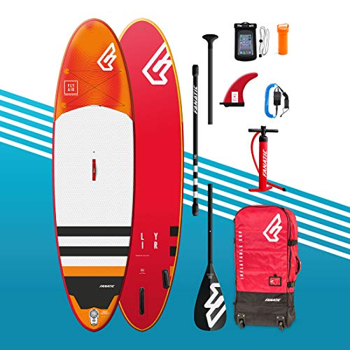 Fanatic Planche de Stand up Paddle Gonflable 10'4 Fly Air Premium avec Paddle – Pompe à Sup –...