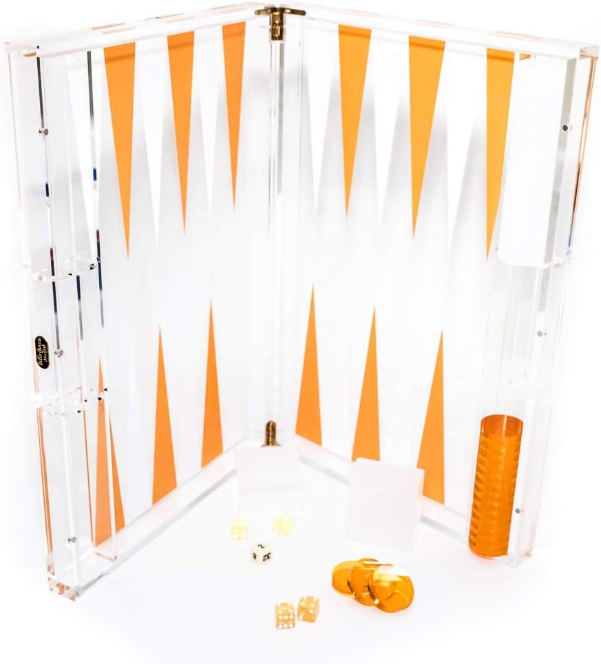Bello Kansas City Mall New York's Tampa Mall Luxury Large Acrylic 1 18 Set Backgammon 2