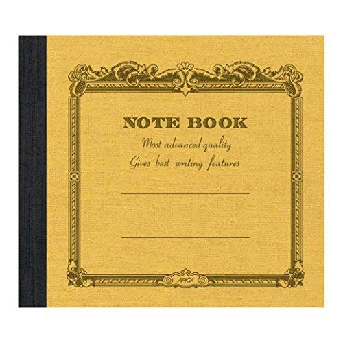 Cuaderno Apica cuadrado, mostaza.