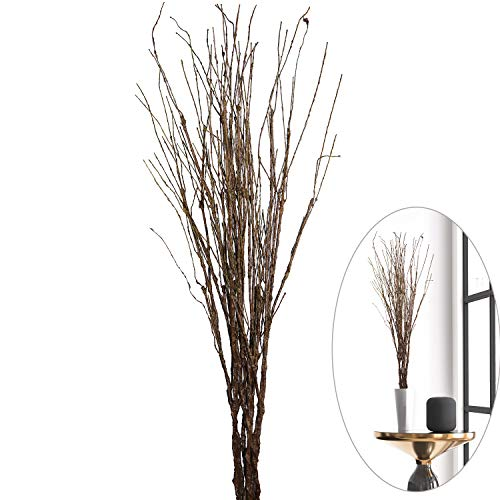MISSWARM 10 pcs Artificial Green Twig Curly Willow Branch Spray 29.5' Artificial Branches Floral Home Decor for Home Office Party Hotel Restaurant Patio or Yard Decoration