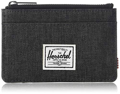 Tarjetero con cremallera HERSCHEL SUPPLY CO. Oscar Black X