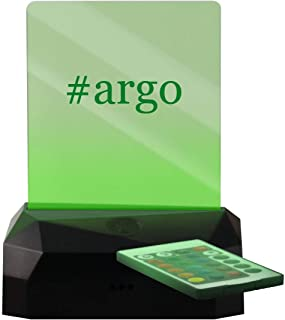 #Argo - Hashtag LED Rechargeable USB Edge Lit Sign