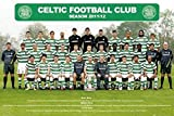 1art1 Fútbol - Celtic Glasgow, Team Photo 11/12 Póster (91 x 61cm)