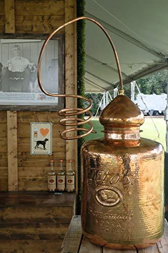Tito´s Handmade Vodka 40% vol., 6-fach destilierter Wodka aus 100% Mais, Vodkamarke Nr. 1 in den USA (1 x 0.7 l) - 7
