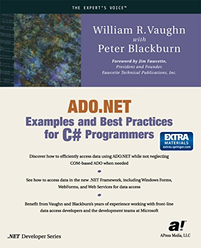 ADO.NET Examples and Best Practices for C# Programmers (Expert's Voice) (English Edition)