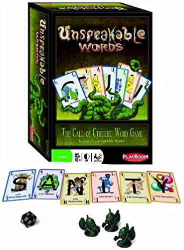 Unspeakable Words Card Game by Playroom Entertainment