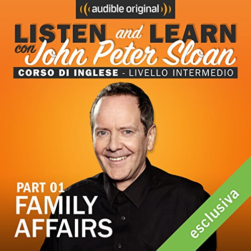 Family affairs 1 (Lesson 12) audiobook cover art