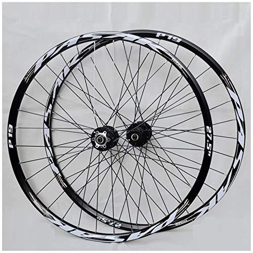 Accesorio de Bicicleta de Ejes de liberación rápid Bicicleta Wheelset 26/27.5/29 Pulgada MTB MTB Llantas de aleación de la Pared de la Pared del Disco Rueda de la Bicicleta QR Cassette FIUWWEEL HUBS