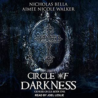Circle of Darkness audiobook cover art