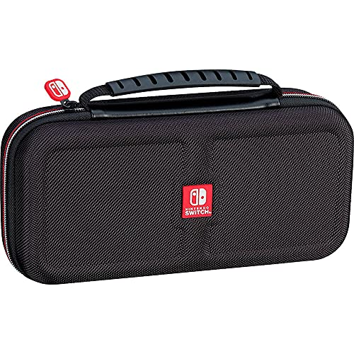 Nintendo Switch Protective Deluxe Travel Case Black with Scr