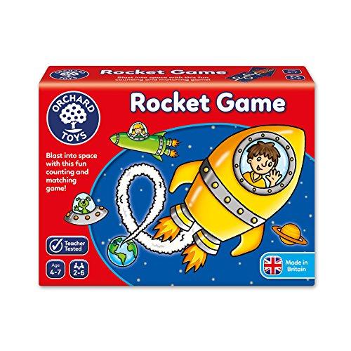 Orchard_Toys Rocket Game - Juego de Mesa de trayectoria de Cohetes