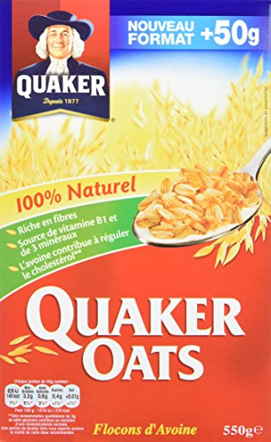 Quaker Oats Avoine/Porridge 550 g