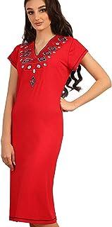 Zecotex Viscose Nightgown For Women