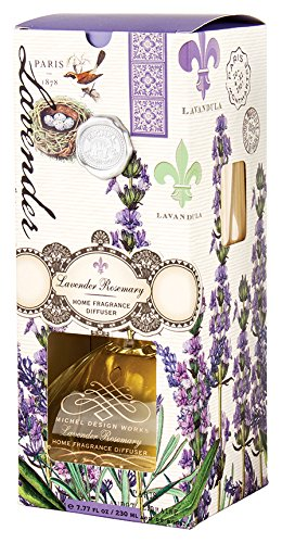 Michel Design Works Home Fragrance Reed Diffuser, Lavender Rosemary