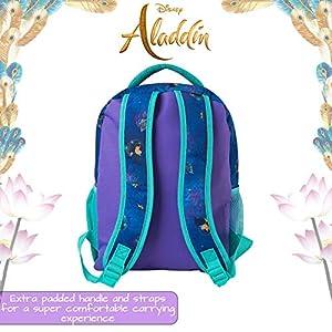 51l1RJGuDBL. SS300  - Mochilas Escolares De Las Princesas Disney Para Niñas | Bella, Cenicienta , Ariel, Jasmin Y Rapunzel | Mochila Escolar…