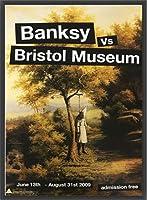 ポスター バンクシー basnksy bristol Hanging Klansman 2009 額装品 ウッドベーシックフレーム(ブラック)