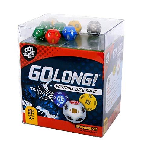 Award winning Dice Game, GoLong! A Football Dice Game - Super Fun Game -...