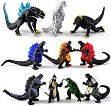 Set of 10 Dinosaur Action Figures, Toys King of The Monsters Mini Dinosaur Decorate 2-3 Inches