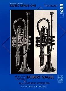 Music Minus One Trumpet: Advanced Trumpet Solos, Vol. I (Robert Nagel) (Sheet Music & CD) by Vivaldi (2011-08-12)