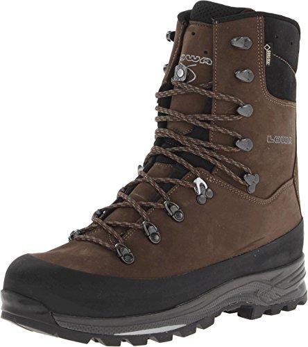 Lowa Mens Tibet GTX Hi General Boot Sepia Black D - Medium 10.5 US
