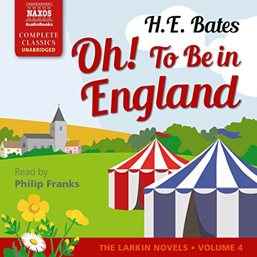 Couverture de Oh! To Be in England
