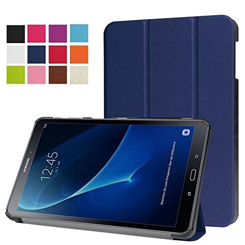Schutzhülle für Samsung Galaxy Tab A 10.1 SM-T580 T585 Zoll Smart Slim Case Book Cover Stand Flip T580N T585N (Blau) NEU
