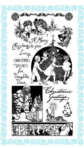 enfants de Noel Christmas // Tampon Clear Stamp Pack (10x18 cm) FLONZ