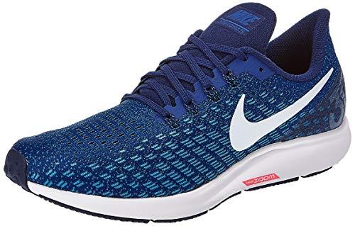 Nike Air Zoom Pegasus 35, Zapatillas de Running Hombre, Azul (Indigo Force/White/Photo Blue/Blue Void 404), 41 EU