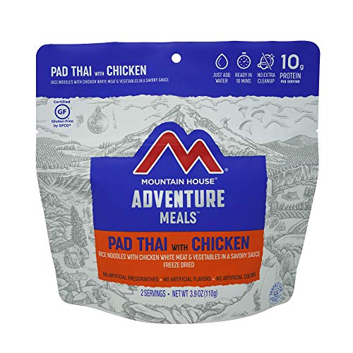 Mountain House Pad Thai with Chicken | Freeze Dried Backpacking & Camping Food |2 Servings |...