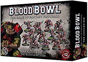 Blood Bowl the Game of Fantasy Football The Gouged Eye Orc Team (12 Miniatures) Games Workshop