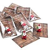 20 kleine mini Geschenke Engel Santa Nikolaus Weihnachtsmann...