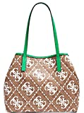 Guess - Bolso de mujer Art SW699523 White Multi Color Foto Talla Única Green/Multi Talla única