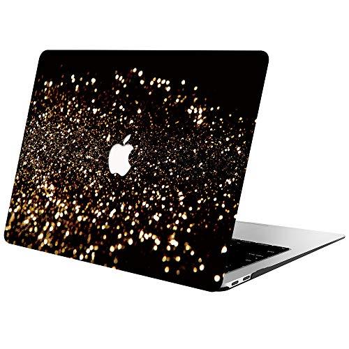 AOGGY - Carcasa para MacBook Air de 13 pulgadas, 2020 2019 2018, versión A2337 M1/A2179/A1932, de plástico, carcasa rígida para nuevo MacBook Air de 13 pulgadas con Touch ID, color dorado