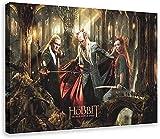 Póster de lienzo 40x60cm Sin marco El señor de los anillos, el Hobbit, póster de película, impresiones, carteles de pared, cuadros modernos, decoración, lienzo para el hogar
