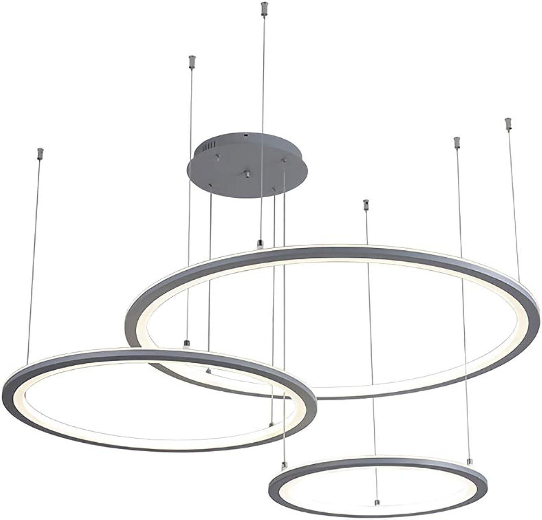 Design Ring 3 Led Pendelleuchte Kreativ 70w 40 60 80cm
