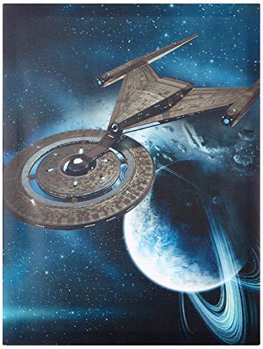 Star Trek Discovery - Lienzo Impreso (60 x 80 cm), diseño