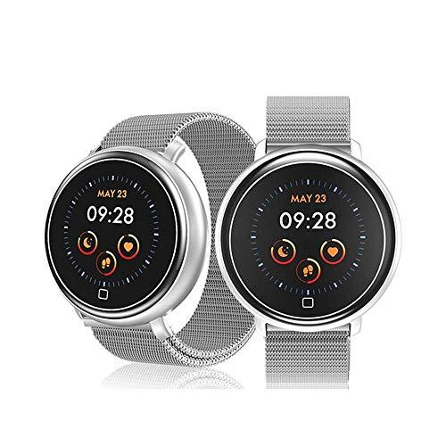 YWT Smart Watch Heren en Vrouwen Hartslag Bloeddruk Slaapmonitor, IP68 Waterdichte Activiteit Tracker Calorie HardloopCounter voor Android iOS