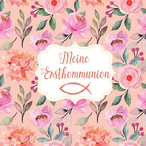 Gästebuch Kommunion: Erinnerungsalbum zur Kommunion für Jungen und Mädchen. Geschenk zur...