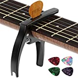 Best Guitar Capos - Guitar Capo,TANMUS 3in1 Zinc Metal Capo for Acoustic Review
