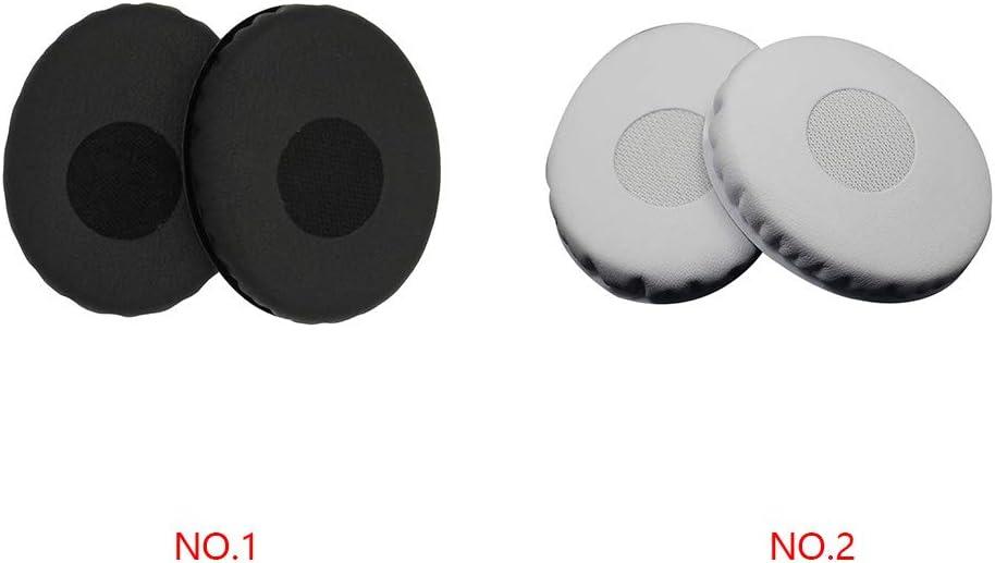 teng hong hui 1 par de Repuesto para HD228 HD238 HD218 HD219 HD229 HD220 o/ído Almohadillas de gomaespuma Earshield Cojines de Cuero PU Earcaps