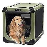 Soft dog crate.