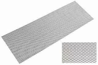 SCHLAGWERK TECHNIX Race Mesh Material: Aluminium EVORG1(AL3030) Diameter: 6x 12mm, size: 135x 30cm Black/Coated Weight: 400g