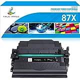 True Image Compatibile per HP 87X CF287X 87A CF287A Toner per HP LaserJet Enterprise M506 M506n M506dn M506x HP LaserJet Pro M501n M501dn MFP M527 Series